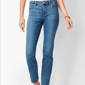 Talbots slim ankle flawless five pocket jeans SZ 4